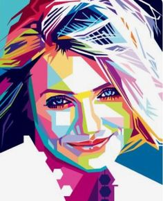 Cameron Diaz Portrait Drawing Tips, Pop Art Portraits, Portrait Art, Sketch Manga, Value In Art, Expressive Art, Art Techniques, Female Art, Art Pictures