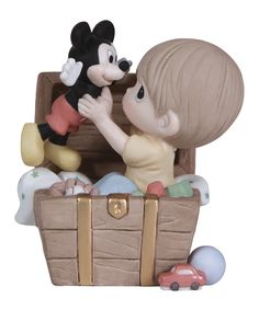 Another great find on #zulily! Toy Chest Mickey Doll Figurine by Disney Showcase Collection #zulilyfinds