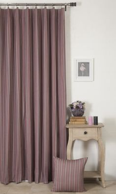 'YAMINI ZUWARA' MADE TO MEASURE COTTON CURTAINS (PINK/GREY) $52.00   https://www.spiffyspools.com/collections/curtains/products/yamini-zuwara-curtains