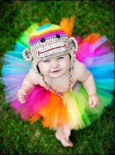 'cute & colourful #colorcrazy... *Rainbow cutiness <3
