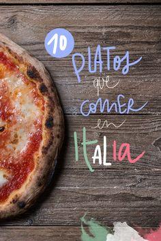 ¿Qué comer en Italia? 10 platos típicos de la gastronomía italiana Gelato, Pasta Carbonara, Italy Travel Tips, Vegetable Pizza, Cheese, Vegetables, Foodies, Tourism, Italian Desserts