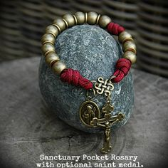 Sanctuary Pocket Rosary - Bronze