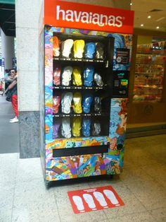 Havaianas  vending machine Sydney