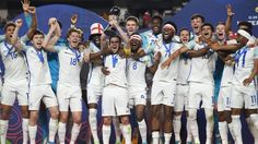 England's footballers finally win another World Cup - with the U20 team triumphing over Venezuela in Suwon South Korea. England U20s have won the World Cup with a 1-0 victory over Venezuela - their first win on the global stage since 1966.  The winning goal was scored by Everton's Dominic Calvert-Lewin in the 35th minute of the final in Suwon South Korea while Venezuela had a penalty saved and both sides hit the woodwork. It was the first time an England side had reached a world final since…