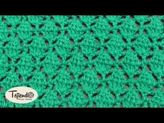 Punto tejido a ganchillo 12 - YouTube