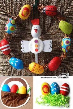 Manualidades para Pascua con huevos