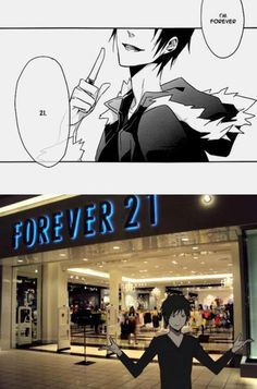 How could anyone NOT think of this when Izaya said that? XD