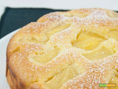 Torta all'ananas senza burro / No-butter pineapple cake recipe  #ricette #food #recipes