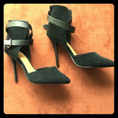 Black heels Worn a couple of times. In good condition Shoes Heels