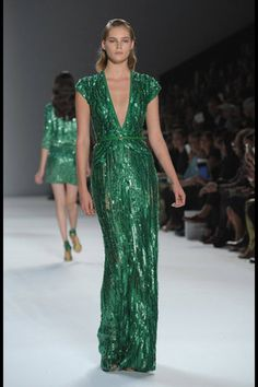 Elie Saab Spring 2012 this is what I will wear when I am George Clooney Oscar date.