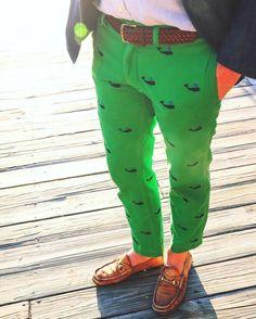 Preppy Men's Pants - Nantucket Reds, Madras, Seersucker - Men's style, accessories, mens fashion trends 2020 Preppy Mens Fashion, Fashion Wear, Men Fashion, Prep Style, Men's Style, Mens Trends, Herren Outfit, Preppy Outfits, Printed Pants