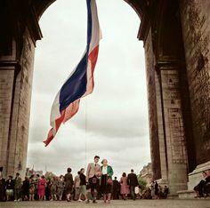 Arc de Triomphe, 1952 by Robert Capa