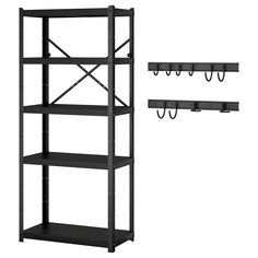 Shop IKEA's BROR series for high quality, state of the art shelving unit combinations which provide practical storage solutions that fit any space in your home. Concrete Bags, Ikea Regal, Shelf Dividers, Pine Plywood, Console, Ikea Family, Le Double, Clothes Rail, Ikea Storage