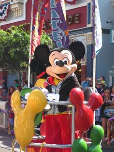 Celebrate! A Street Party -- Mickey Mouse
