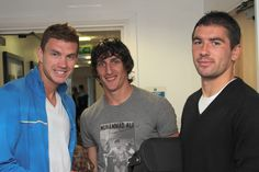 Edin, Stefan and Aleks
