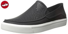 Crocs Herren Citilnrokaslp Clogs, Schwarz (Black/White), 42/43 EU (*Partner-Link)