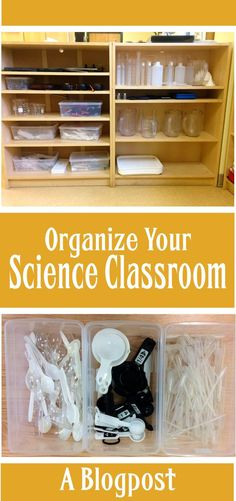 Here's the third installment of my blog series on organizing a science classroom. What can you display in your classroom to make it look and feel more like a science classroom? To read this entry, click the link.