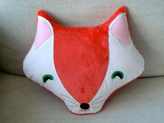 Sweet, sly and smuggle-worthy, this little fox will be a favorite in any child or babys room. Rather have a grey or brown fox? Please message me and