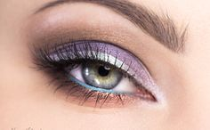 Trust me: switch the silver eyeliner for gold, and brown eyes will pop!