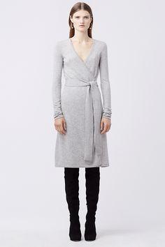 DVF Linda Cashmere Wrap Dress