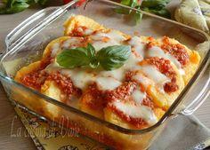 Timballo di polenta al forno,ricetta primo piatto di polenta facile da fare,economico e tanto gustoso.Ottimo per stupire a tavola, piace a grandi e piccini.