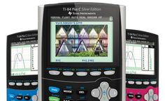 New pictures of the color TI-84 Plus C graphing calculator.