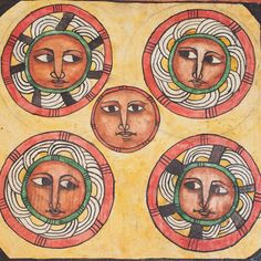 Magical Divination print of Debtara. Rastafari Art, Alchemy Art, Africa Art, Old Images, Sacred Art, Outsider Art, Moon Art, Religious Art, Kristen Konst