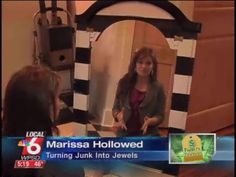 Today's Thrifty Thursday segment is a freebie made with things you can get locally. From repurposed mirrors to headboards to making older furniture look new again, there are a variety of options available for the thrifty-minded.