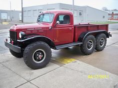 Drool. 6x6 Power wagon, thisun here will go down in th woods or the crick bottom !