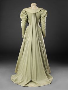 Tea Gown, late 1890s