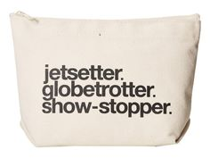 USINMADE | Jetsetter Canvas Bag from Dogeared. Made in America!