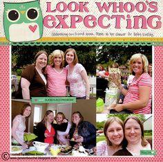 Look Whoo's Expecting - Scrapbook.com