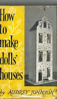 1968 How to Make Doll's Houses by Audrey by TheIDconnection, $30.00