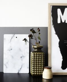 kitchen styling | marble board via weekday carnival