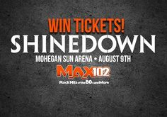 Wilkes-Barre Township PA! Enter for your chance to win a pair of @Shinedown tickets for the show on August 9th! Enter here: http://max1023.secondstreetapp.com/Score-tickets-to-see-Shinedown/   Barry Kerch Brent Smith Eric Bass Shinedown Shinedown Nation Shinedowns Nation Zach Myers