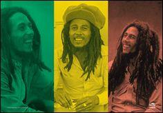 Bob Marley Rasta Collage ☮ ☮ Hippie Style ☮ ☮
