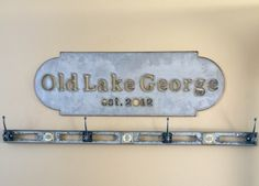 Enjoythis customized by you, large metal sign indoors or outdoors!