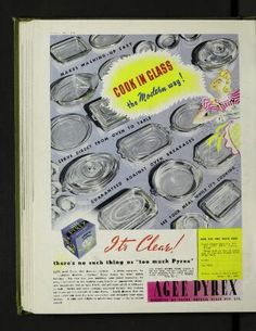 There's NO such thing as too much pyrex 1942
