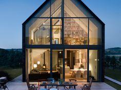 New build barn in Poland #granddesigns #granddesignsmagazine #newbuild #selfbuild #Poland #home #house