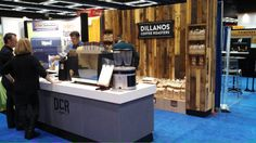 @Dillanos Coffee new booth and competition coffee line at the SCAA in Seattle.