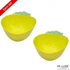 Hi Luxe Strawbery Snack Bowl Green