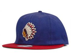 Native Navy 19Twenty Fitted Baseball Cap by UNDEFEATED x NEW ERA