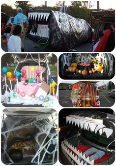 trunk or treat ideas that looks like fun i thought trunk or treating you went holidays halloweenhalloween craftshalloween ideasdecor