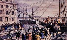 Boston Tea Party (16 décembre 1773) Boston (Massachussetts)