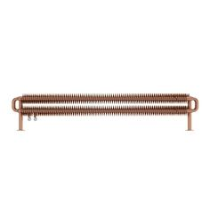 Ribbon copper horizontal radiator 190 x 1540 | VictoriaPlum.com