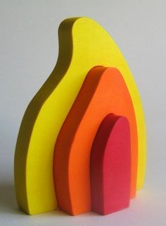 Wooden Fire Stacker by Imaginationkids on Etsy, $14.00