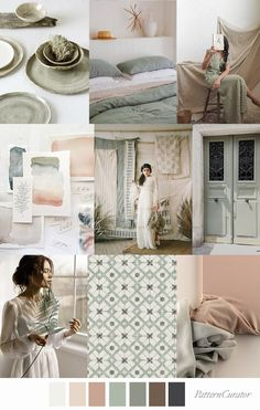 Pattern Curator delivers color, print and pattern trends and inspiration. Willow And Sage, Mood Board Interior, Deco Nature, Home Decor Trends, Color Trends, Pantone, Colorful Interiors, Color Inspiration, Decoration