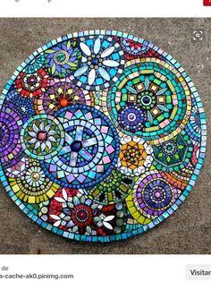 Mosaic by Plum Art Mosaics 2014 (Sharon Plummer) MásDecorating Blue Mosaic Outdoor Table Mosaic Tile Centerpieces Garden Mosaic Tiles The Inspiration of Mosaic Table Ideas White.mosaic table top best mosaic table tops ideas on mosaic outdoor best mo Table Mosaic, Mosaic Outdoor Table, Mosaic Wall, Mosaic Glass Art, Wall Tiles, Mosaic Birdbath, Mosaic Pots, Mosaic Mirrors, Mosaic Crafts