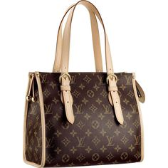 Louis Vuitton M40007 Popincourt Haut Brown