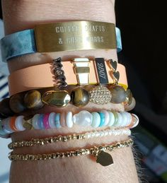 Coffee Crafts, Keep Jewelry, Words, Bracelets, Bracelet, Horse, Arm Bracelets, Bangle, Bangles